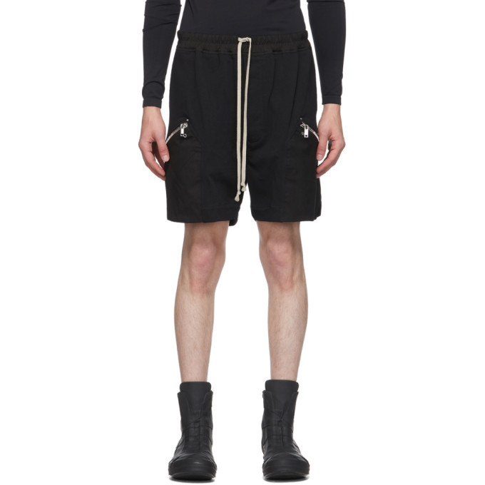 Photo: Rick Owens Black Running Shorts