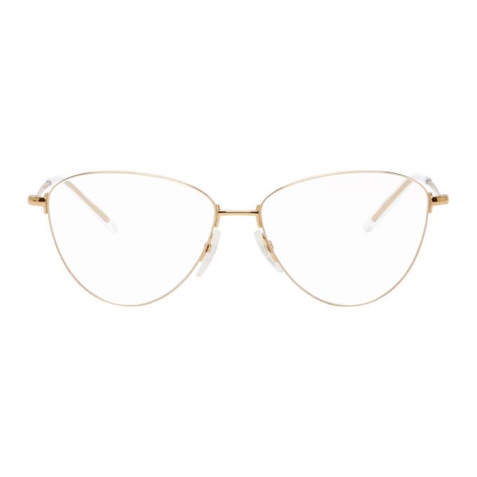 Photo: Balenciaga Gold BB0034O Glasses