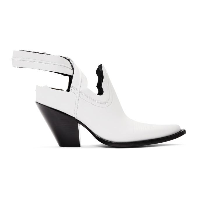 Photo: Maison Margiela White Santiago Decortique Boots