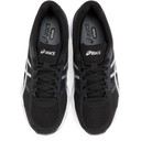 Asics Black and Silver Gel-Contend 4 Sneakers