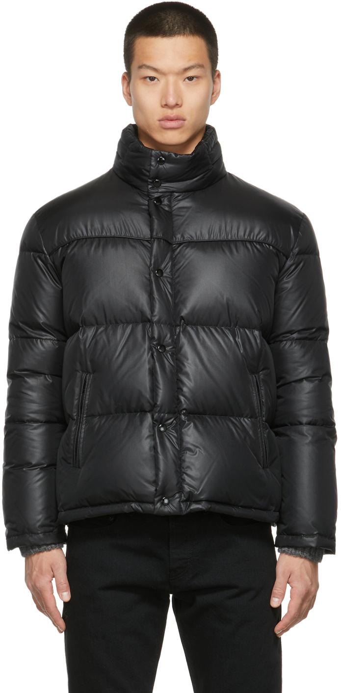 Photo: Saint Laurent Nylon Down Puffer Jacket