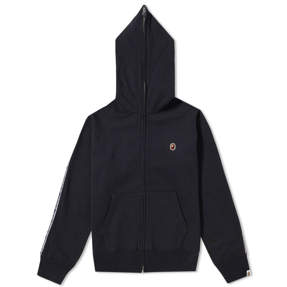 Photo: A Bathing Ape Tape Zip Hoody Black