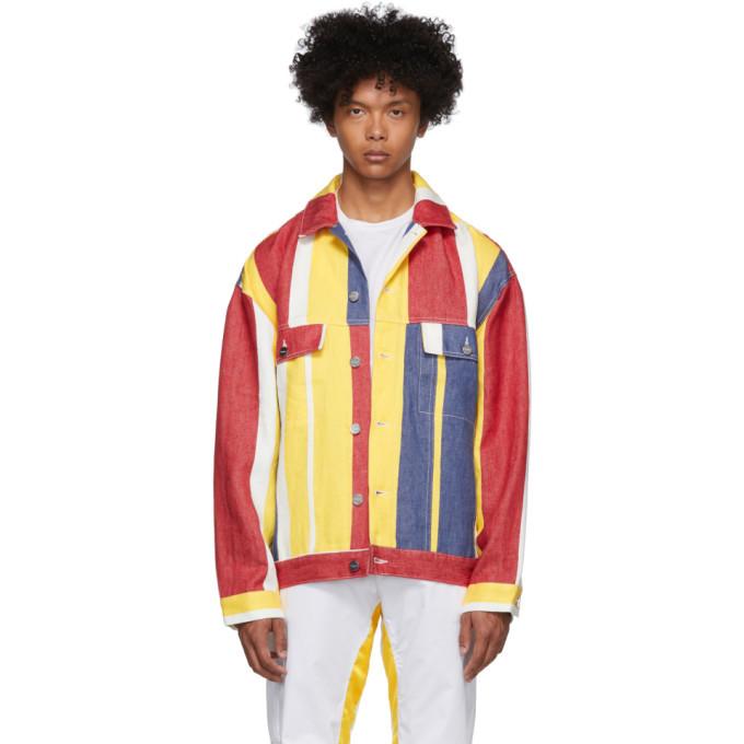 Photo: Etudes Multicolor Karl Kani Edition Linen Denim Vertige Jacket