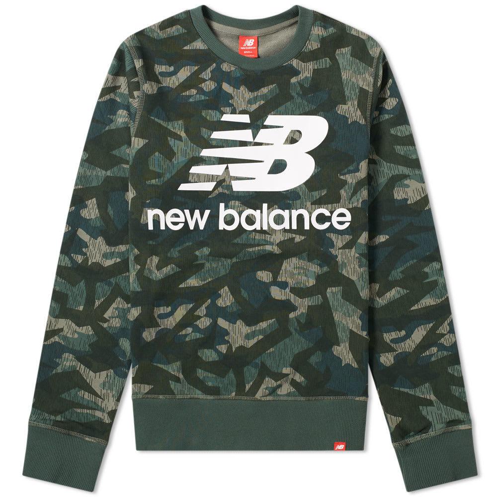Photo: New Balance Essentials Stacked Sweat Camo