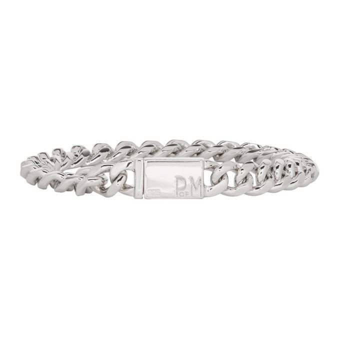 Photo: Faith Connexion Silver Piece Of Mind Edition Chain Bracelet