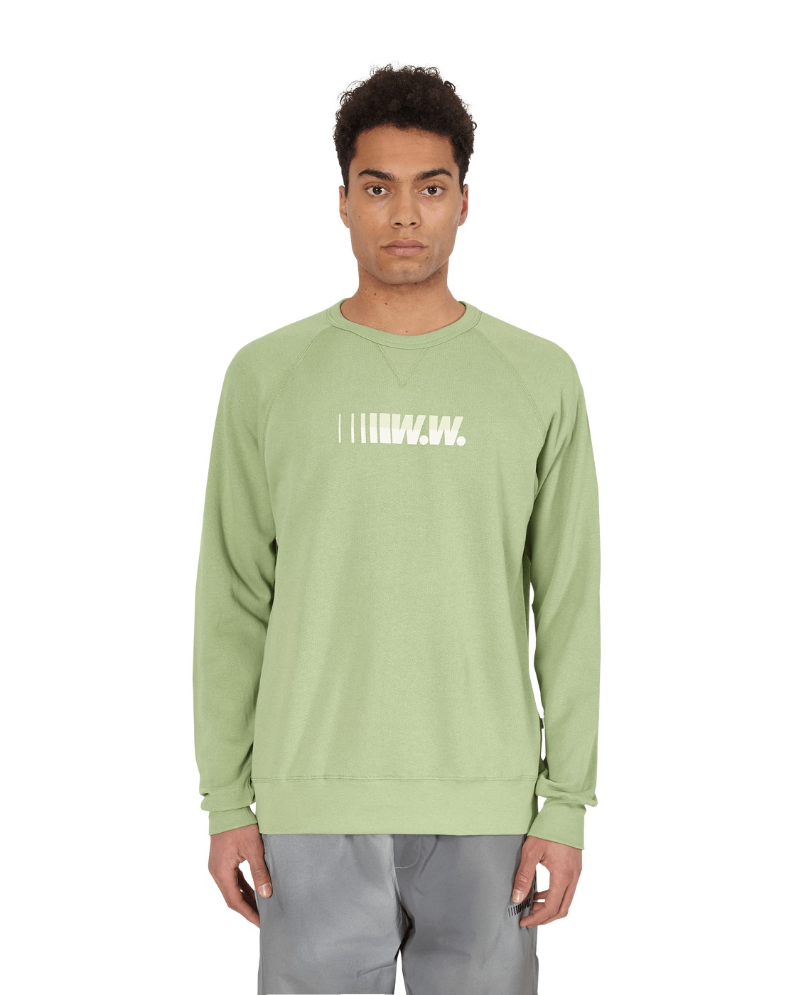 Photo: Wood Wood Hester Sweatshirt Dusty Green