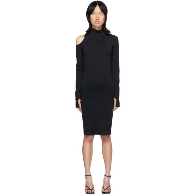 Photo: Helmut Lang Black Cutout Dress