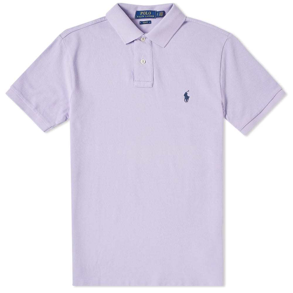 Photo: Polo Ralph Lauren Slim Fit Classic Polo Purple