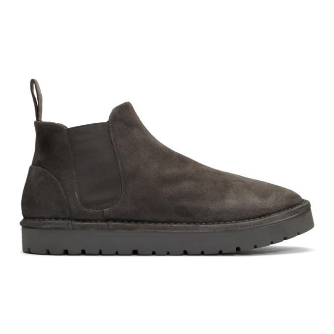Photo: Marsell Grey Sancrispa Alta Chelsea Boots