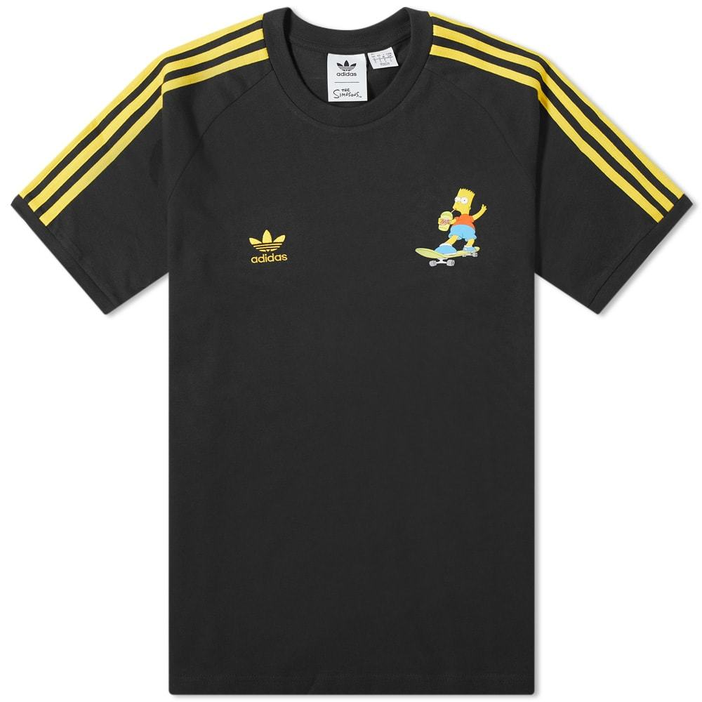 Photo: Adidas x The Simpsons 3 Stripe Tee