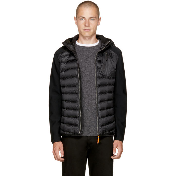 Photo: Parajumpers Black Warm Up Nolan Jacket