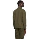 C.P. Company Khaki Gabardine Garment-Dyed Shirt