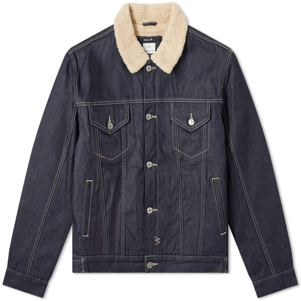 Ksubi Oh G Fleece Collar Jacket