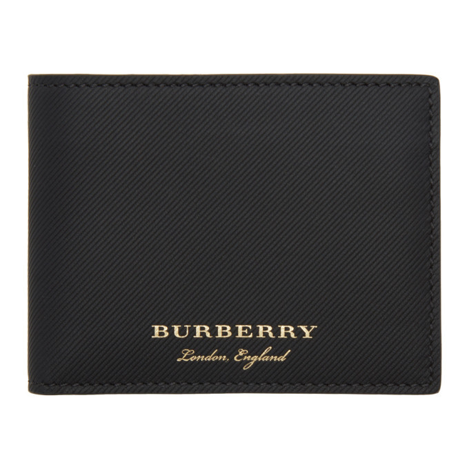 Photo: Burberry Black Leather Hipfold Wallet