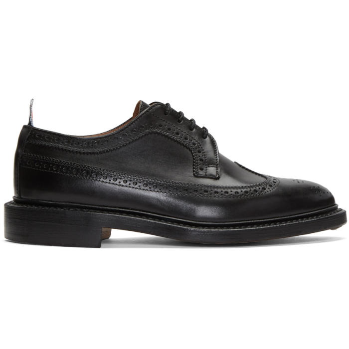 Photo: Thom Browne Black Classic Longwing Brogues