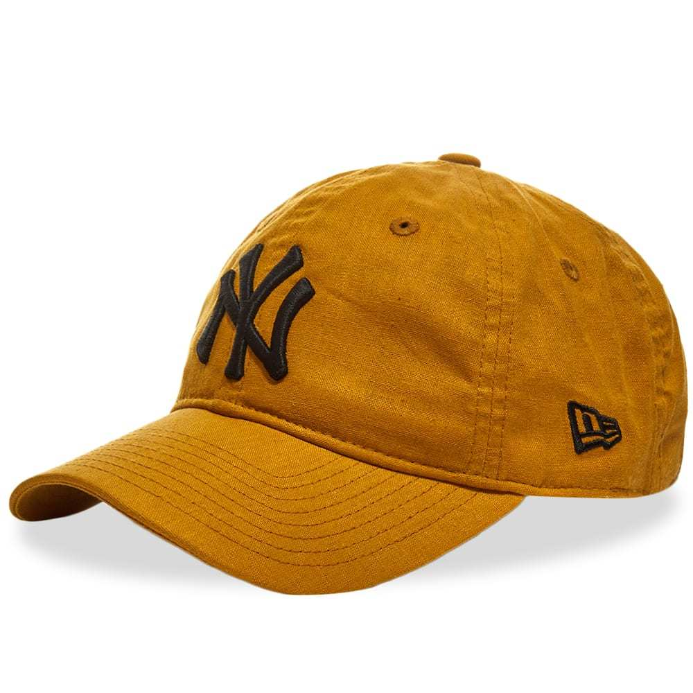 Photo: New Era Linen Yankees 9Twenty Adjustable Cap