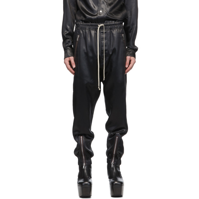 Photo: Rick Owens Black Satin Lounge Pants