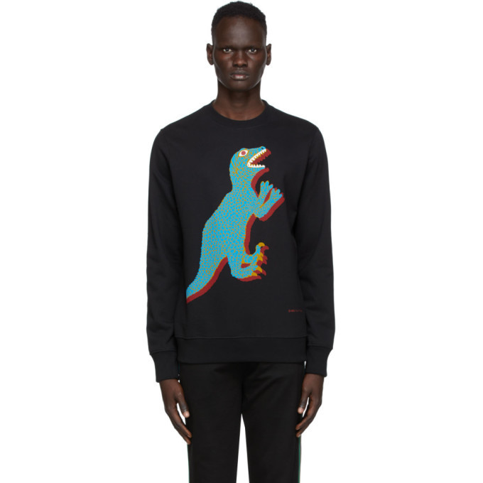 Photo: PS by Paul Smith Black Dino Sweatshirt