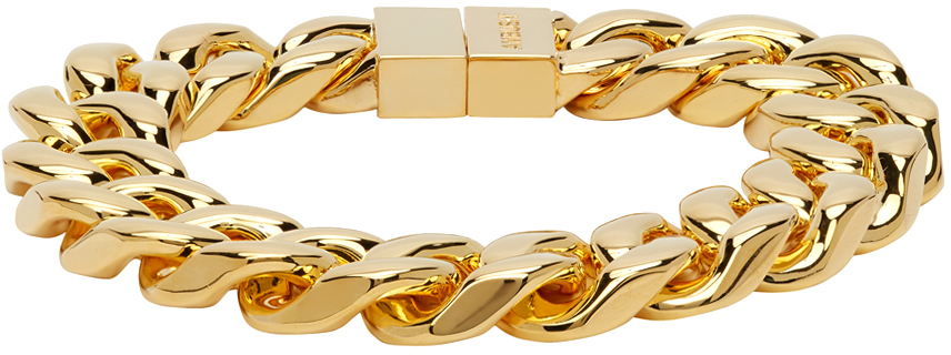 Photo: Ambush Gold Classic Chain 7 Bracelet