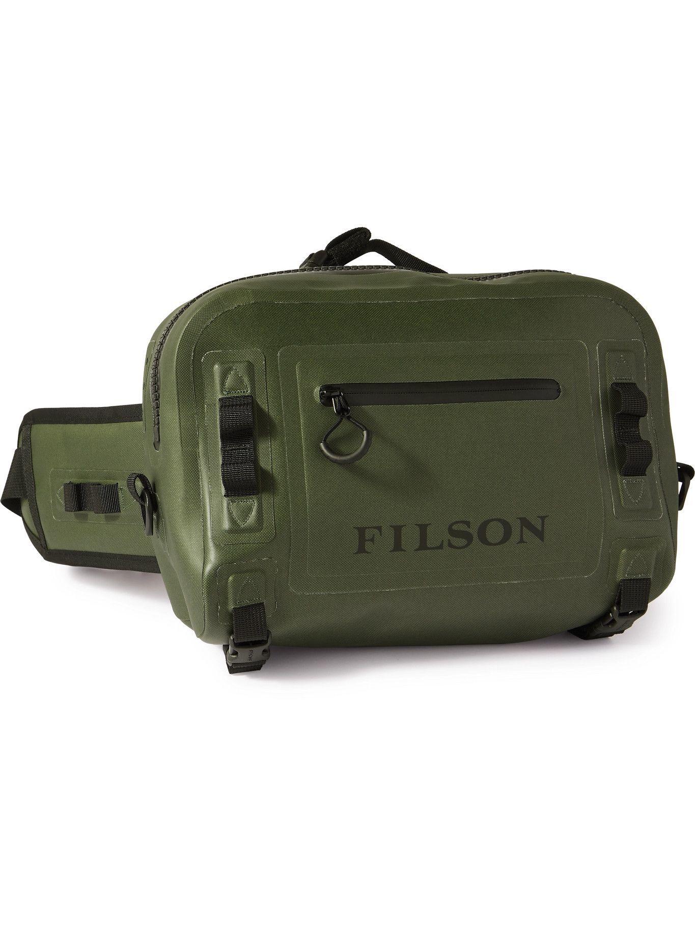 Photo: Filson - Logo-Print TPU-Coated 840D Nylon Belt Bag