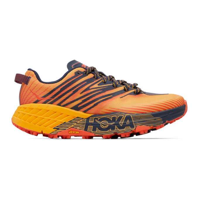 Photo: Hoka One One Multicolor Speedgoat 4 Sneakers