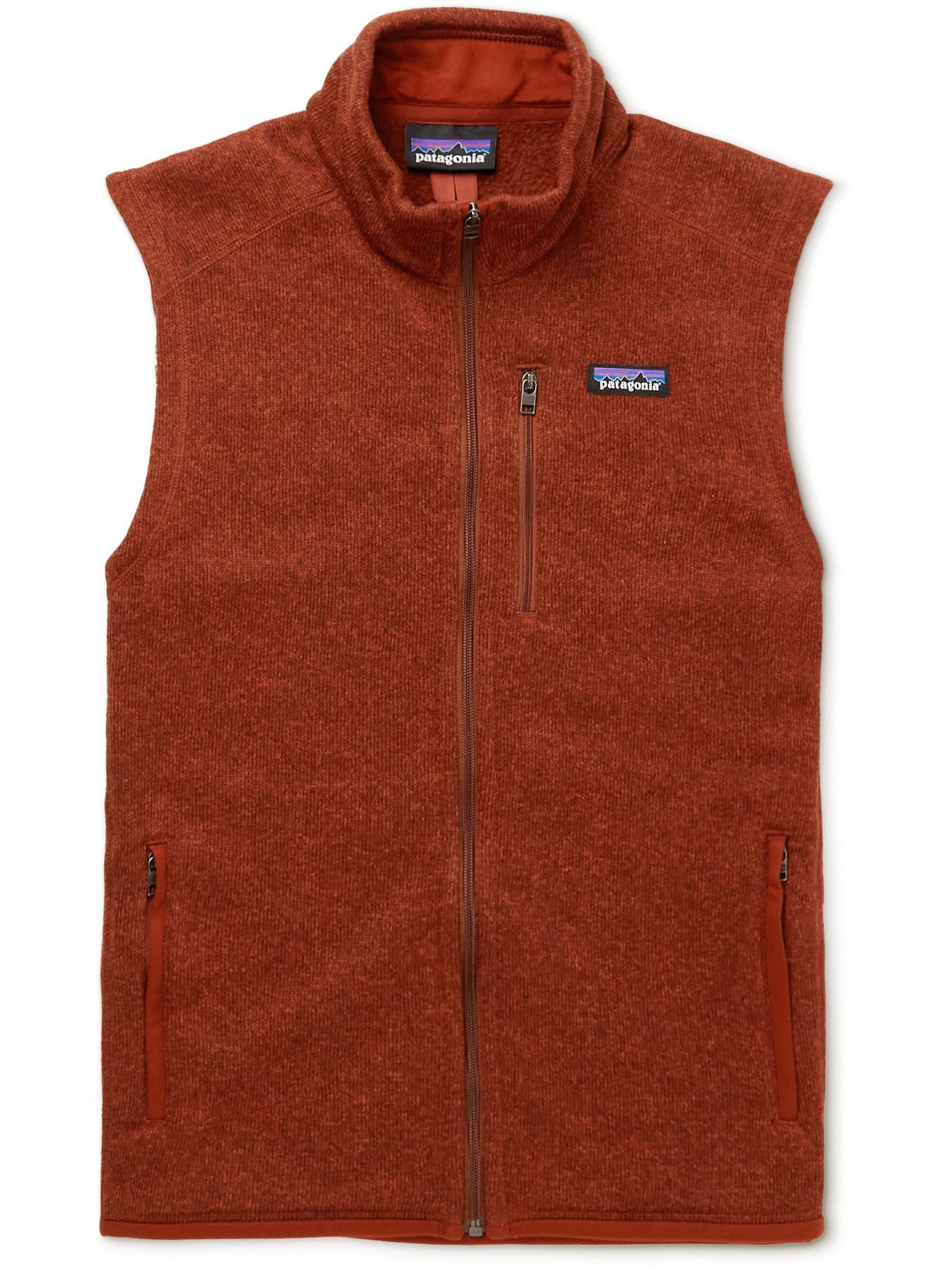 Photo: Patagonia - Better Sweater Recycled Knitted Gilet - Red