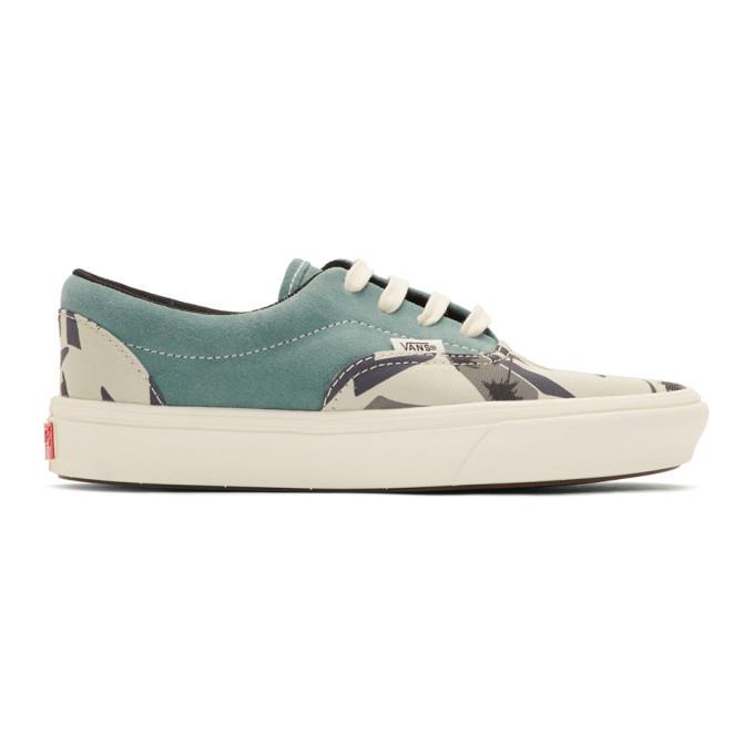 Photo: Vans Blue Suede Comfycush Era Sneakers