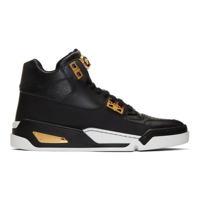 Versace Black Atlas Sneakers Versace