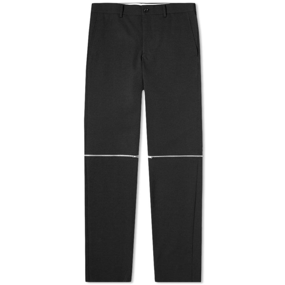 Photo: Comme des Garcons Homme Plus Zip Leg Wool Trouser