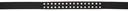 Rick Owens Black Tougue Belt