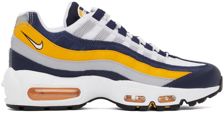 Photo: Nike Navy & Orange Air Max 95 Sneakers