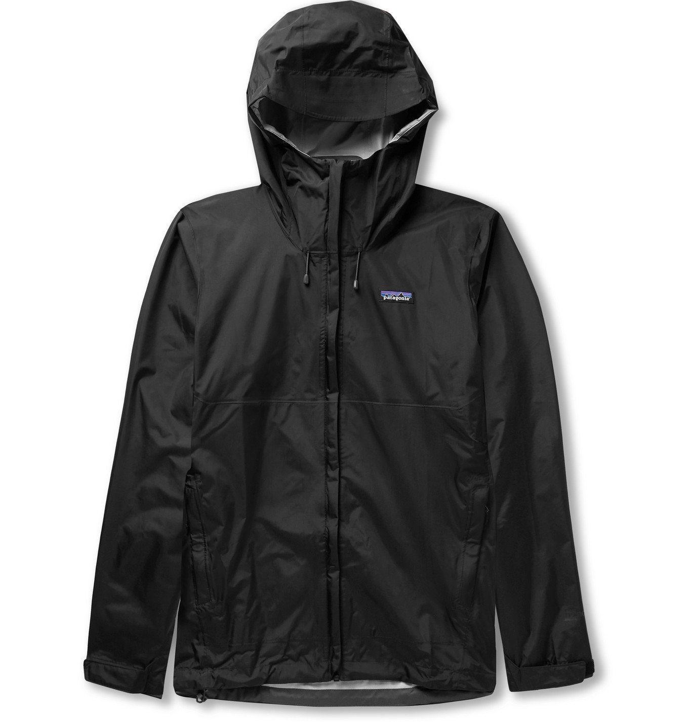Photo: Patagonia - Torrentshell 3L Recycled H2No Performance Standard Ripstop Hooded Jacket - Black