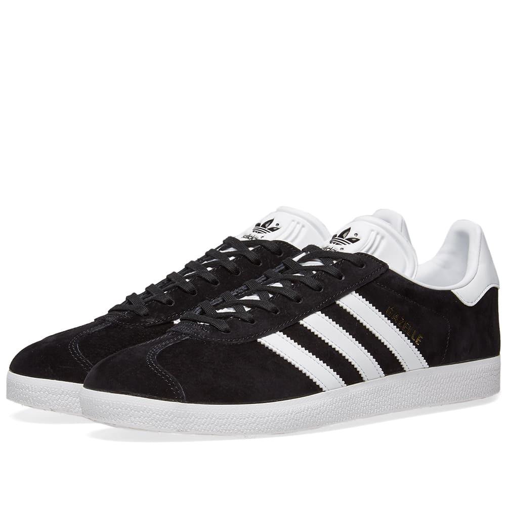 Adidas Gazelle Core Black & White