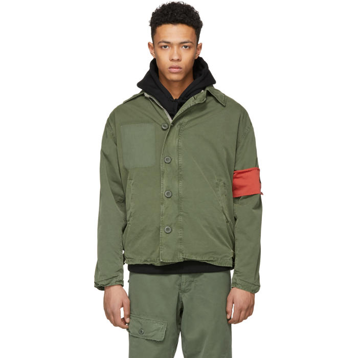 Photo: 424 Green Alpha Industries Edition Deck Jacket