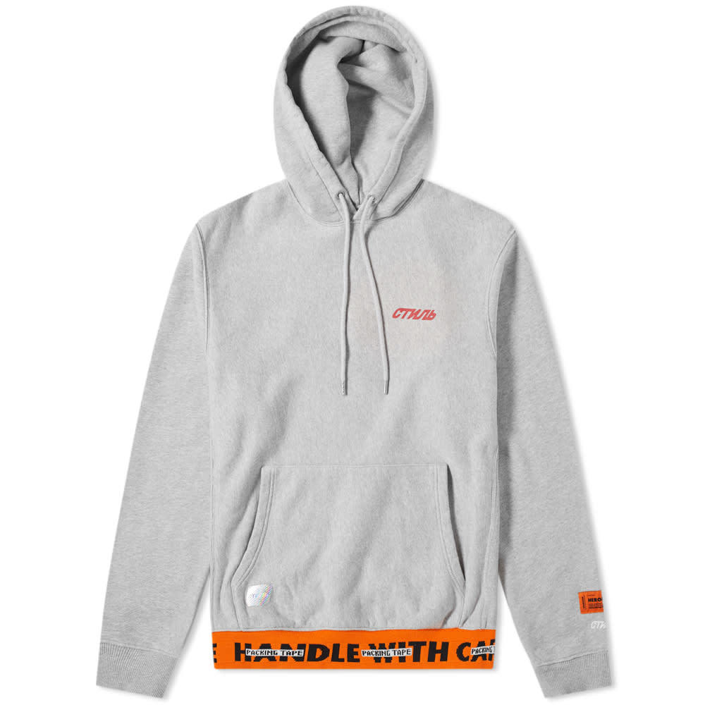 Photo: Heron Preston CTNMB Taped Rib Hoody