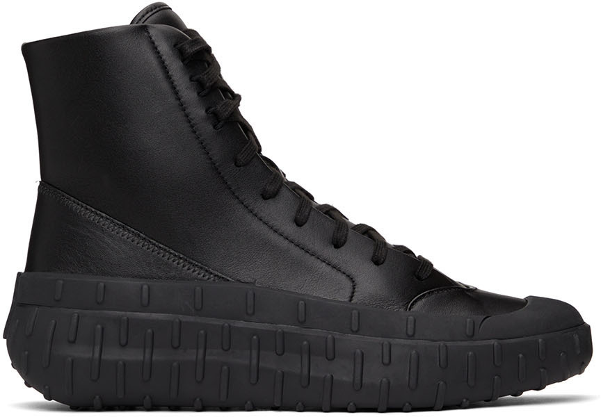Photo: Y-3 Leather GR. 1P Boots
