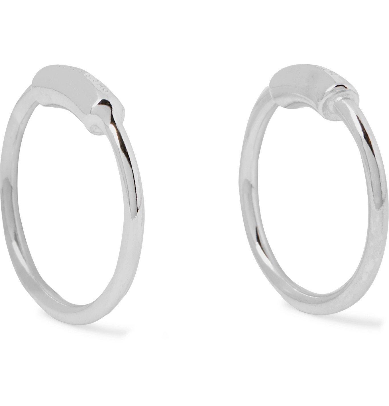 Photo: Maria Black - Rhodium-Plated Earrings - Silver