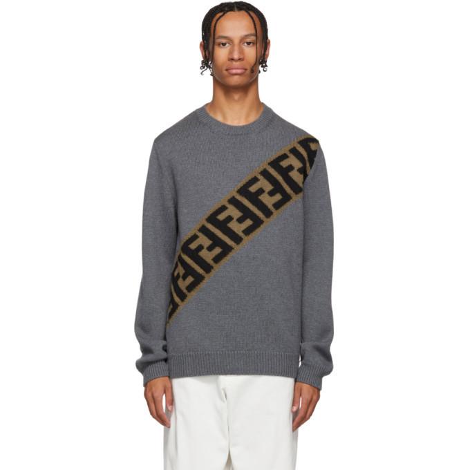 Photo: Fendi Grey Forever Fendi Sweater