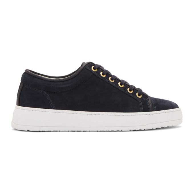 Photo: ETQ Amsterdam Navy Lt 01 Waxed Sneakers