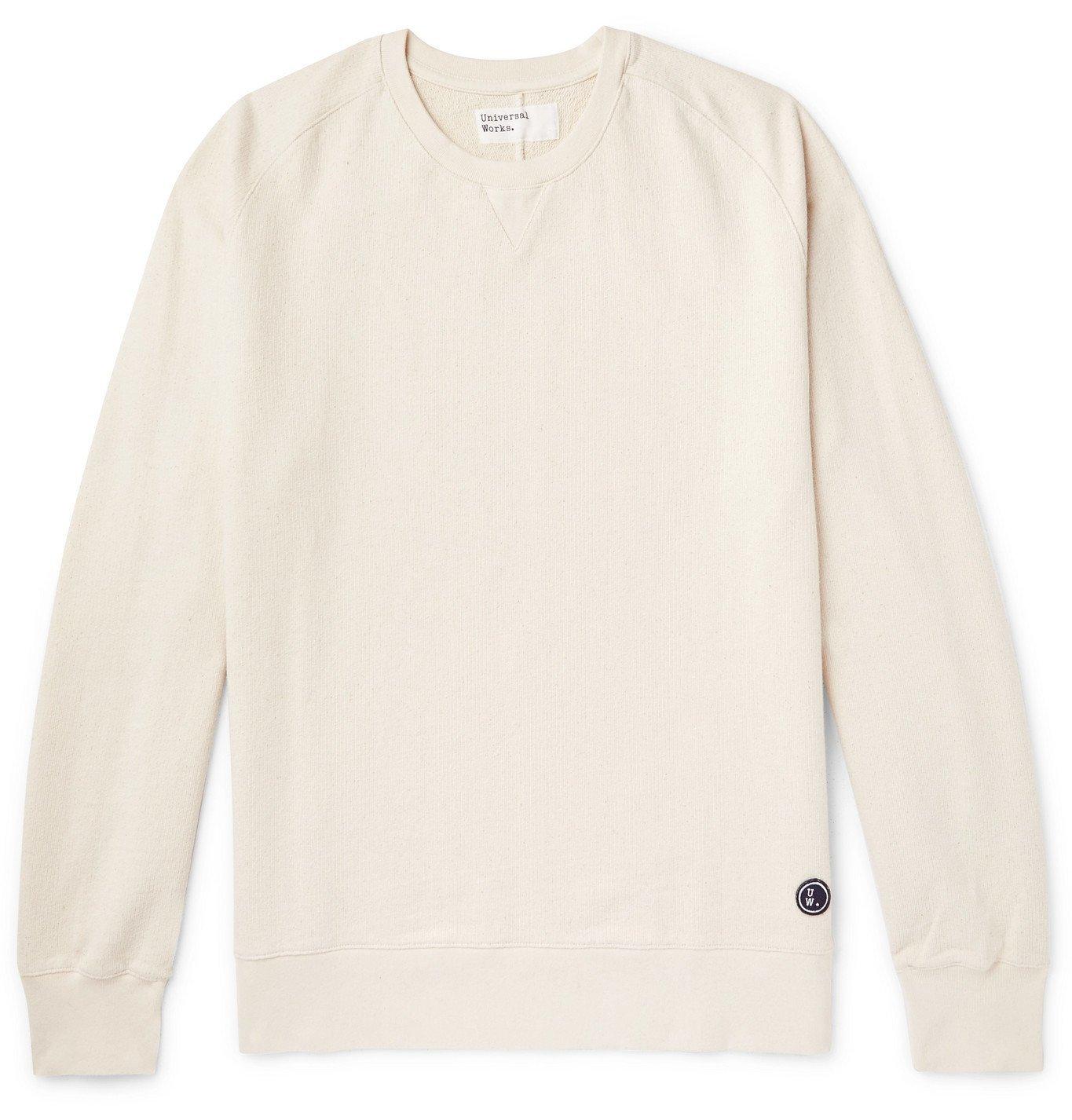 Photo: Universal Works - Loopback Cotton-Jersey Sweatshirt - Neutrals