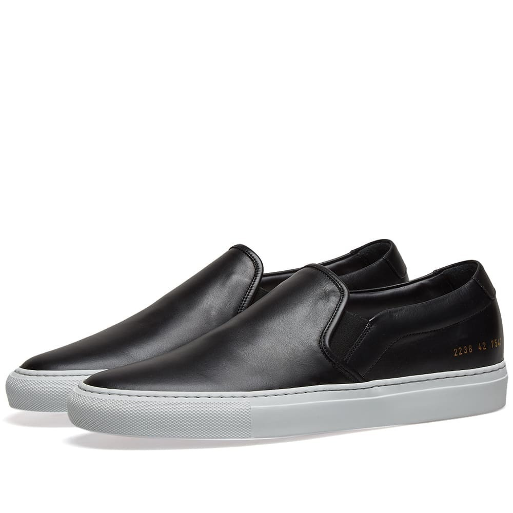 Photo: Common Projects Slip On White Sole