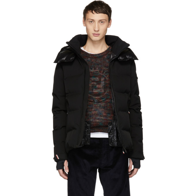 Moncler Grenoble Black Down Montgetech Jacket