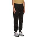 C.P. Company Black Heavy Jersey Mixed Lounge Pants