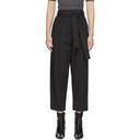 3.1 Phillip Lim Black Menswear Style Trousers