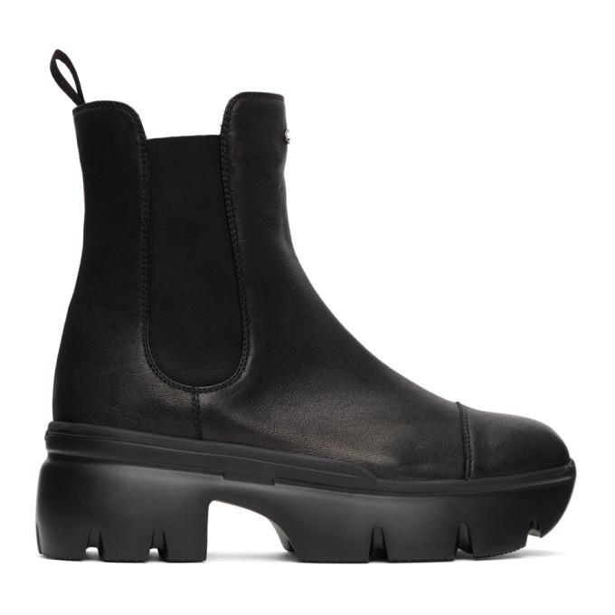 Photo: Giuseppe Zanotti Black Apocalypse Chelsea Boots