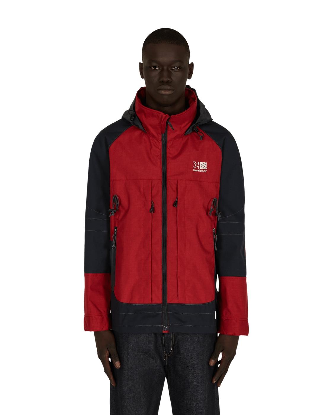 Photo: Junya Watanabe Man Karrimor Backpack Jacket Red/Grey