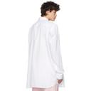 Raf Simons White Illusions Big Fit Shirt