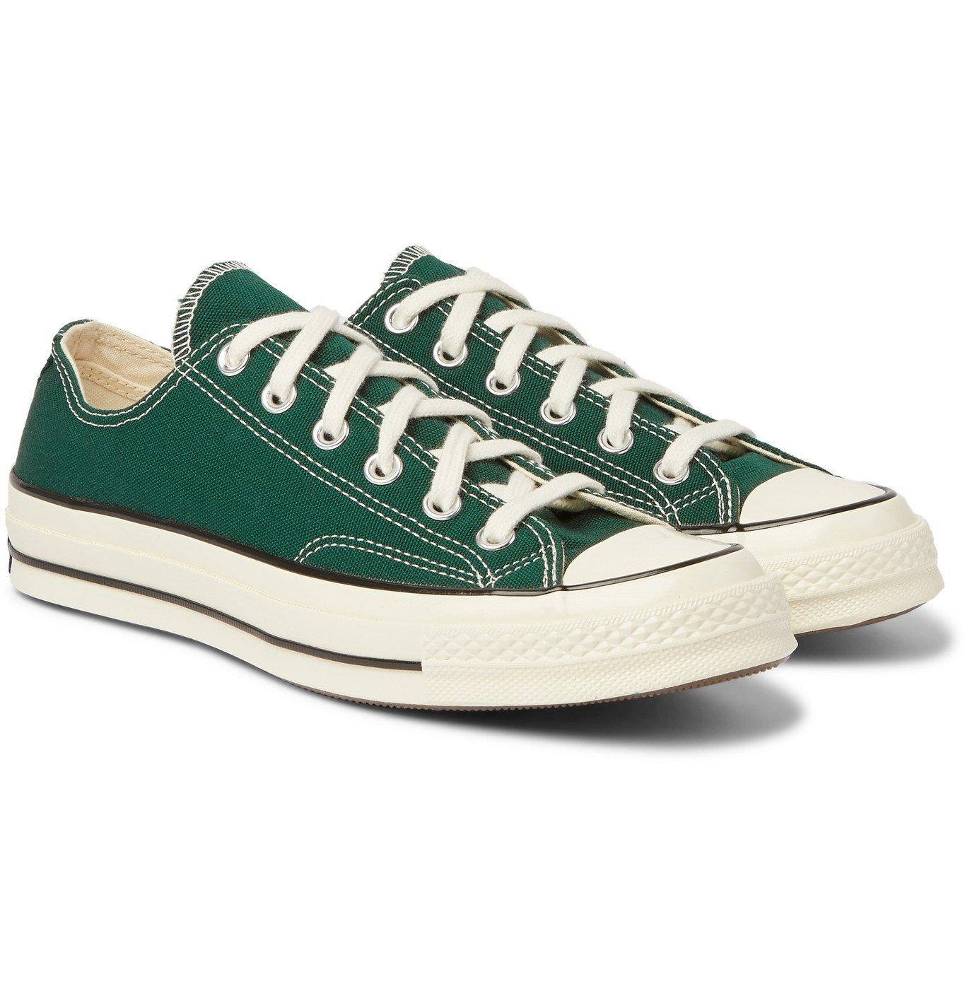 Converse - Chuck 70 OX Canvas Sneakers - Green Converse