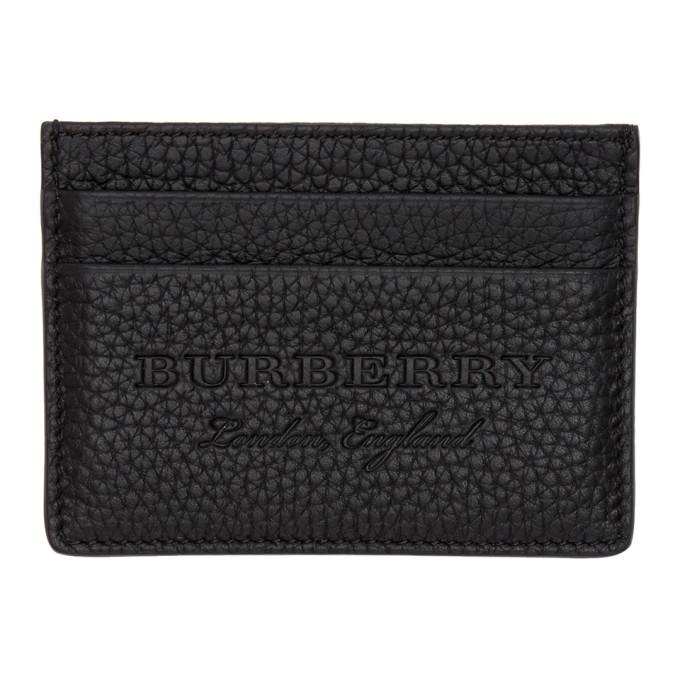 Photo: Burberry Black Sandon Card Holder
