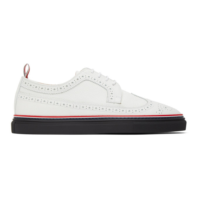 Photo: Thom Browne White Cupsole Longwing Brogues